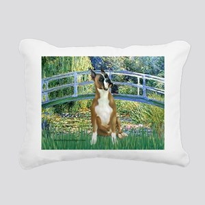 TILE-Bridge-Boxer1up Rectangular Canvas Pillow